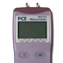 Manómetro PCE-P30 para una presión máxima de 60 psi