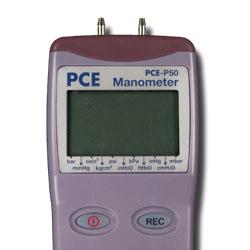 Manómetro PCE-P50 para una presión máxima de 150 psi