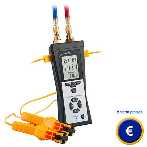 Más información sobre el manómetro de presión diferencial para refrigeradores
