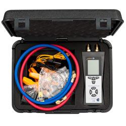 Contenido de envío del manómetro de presión diferencial PCE-HVAC 4