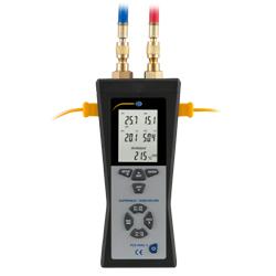 Visión completa del manómetro de presión diferencial