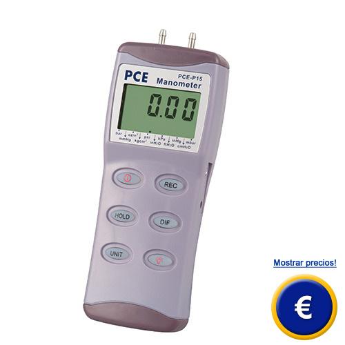 Más información acerca del manometro de la serie PCE-Pxx.