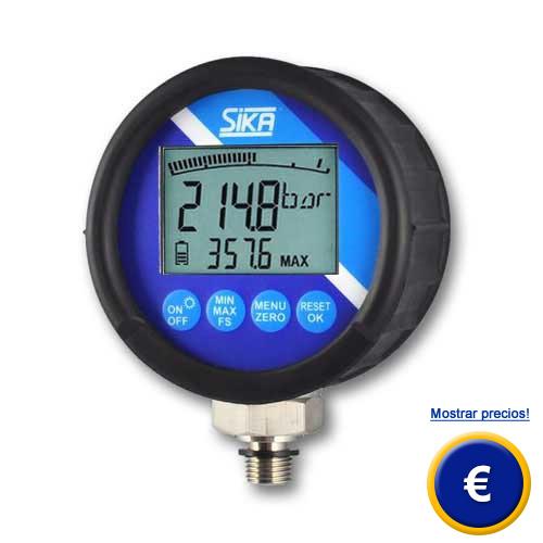 Man metro de referencia de precisi n serie eme8ref d2 for Manometro para medir presion de agua