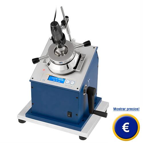 Más información sobre la maquina de embuticion PCE-CPT 20