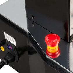 Botón de parada de emergencia del máquina de ensayo motorizada de tracción y compresión PCE-VTS 50