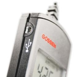 Con el luxómetro Mavolux podrá transmitir la información desde el equipo hasta un PC mediante USB.