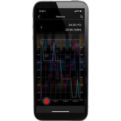 Medidor ambiental con APP para el teléfono móvil