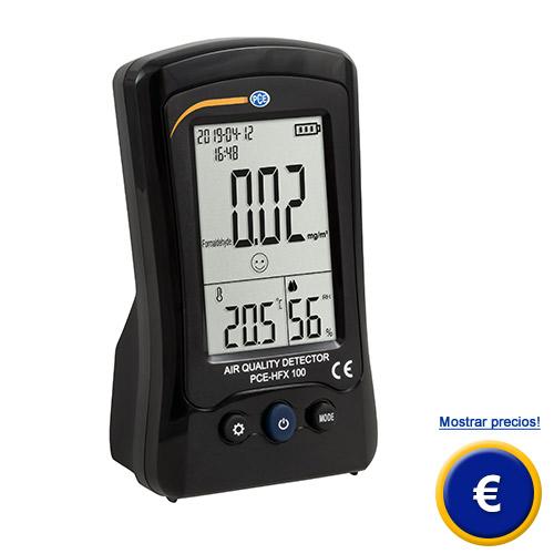 Más información del medidor de calidad de aire CO2