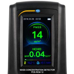 """El medidor de calidad de aire dispone de una pantalla luminosa de 3""""."""