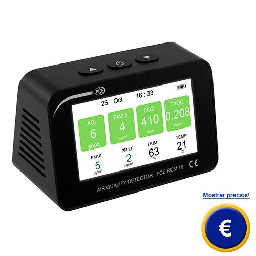 Más acerca del medidor de calidad del aire