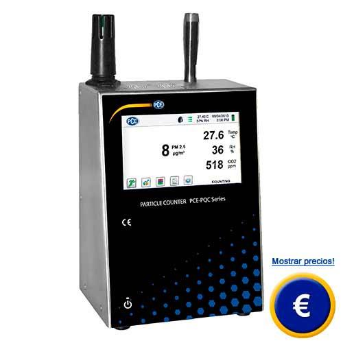 Más información acerca del medidor de calidad de aire PCE-PQC 22 / 23EU/US