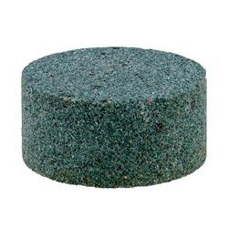 Aquí aprecia la piedra afiladora incluida en el envío del medidor de dureza.