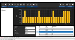 Software para la administración de datos del medidor de espesor PCE-TG 300
