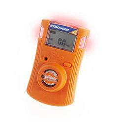 Medidor de gas Crowcon Clip en estado de alarma