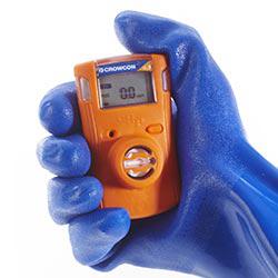 Medidor de gas Crowcon Clip dispuesto para funcionar