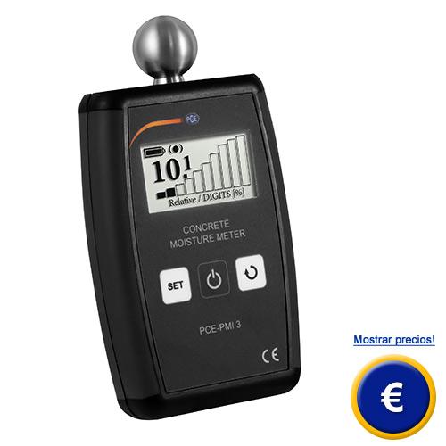 Más información sobre el medidor de humedad de material PCE-PMI 3