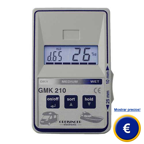 Medidor de humedad gmk 210 - Medidor de humedad ...