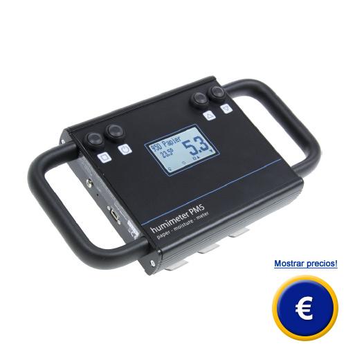 Más información sobre el medidor de humedad de carton PM5