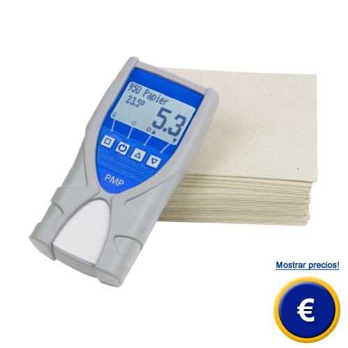 Más información sobre el medidor de humedad de papel PMP