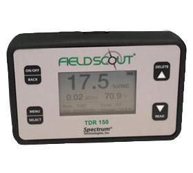 Pantalla del medidor de humedad de tierra TDR-150