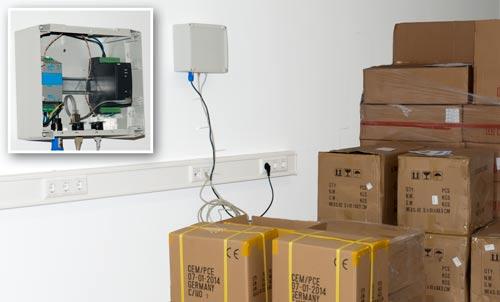 Instrucciones del medidor de humedad y temperaturaPCE-WMS 1