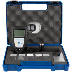 El medidor de micras PCE-CT 28 se entrega en un maletín.