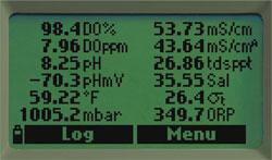 Medidor multiparamétrico portátil: Indicación simultánea de 12 parámetros