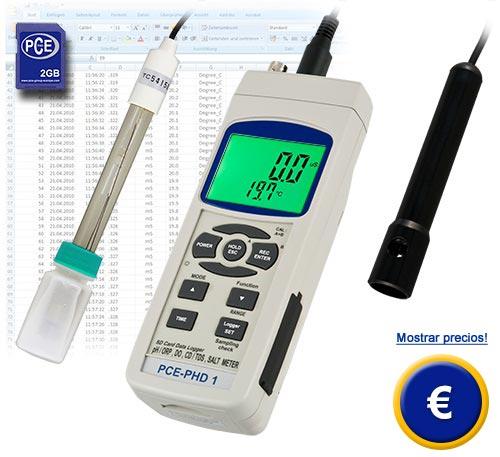 Medidor de ox geno disuelto pce phd 1 for Analizador de oxigeno