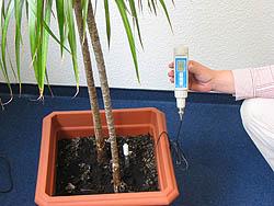 Medidor de pH para suelo PCE-PH20s