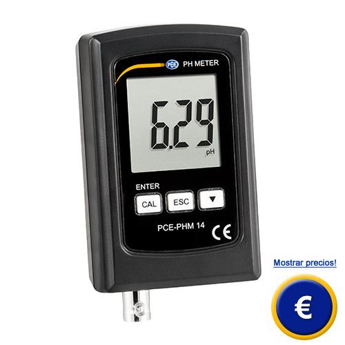 Más información sobre el medidor de pH PCE-PHM 14