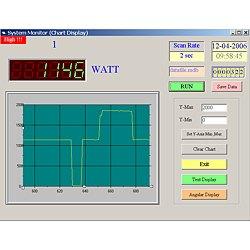 Otra imagen del software para el analizador de potencia PCE-PA6000.