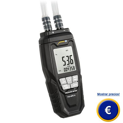Más información acerca del medidor de presión diferencial