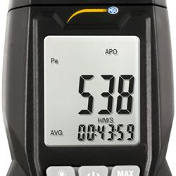 Pantalla del medidor de presión PCE-MPM 10
