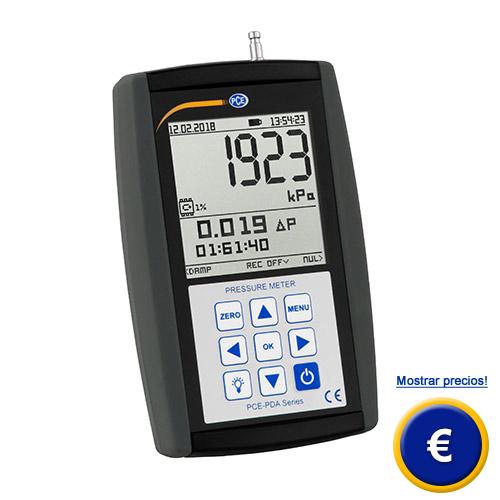 Más información del medidor de presión relativa