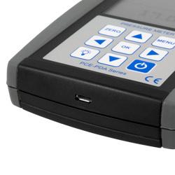 Conexión micro USB del medidor de presión relativa