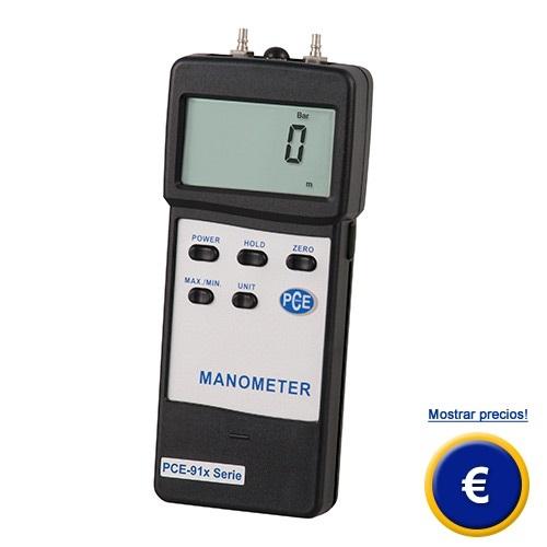 Medidor de presión para líquidos (aceites hidráulicos ...)