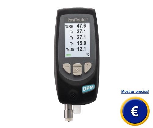 Más información acerca del medidor del punto de rocío PT-DPM