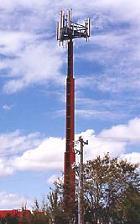 Medidor de radio frecuencia para la detección de radio frecuencias.