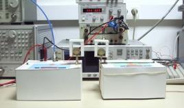 Medidor de radio frecuencia para la valoracion de la radiacion que proviene de un banco de ensayos
