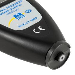 Sensor del medidor de recubrimiento PCE-CT 5000