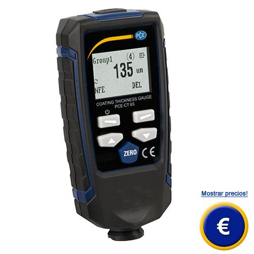 Más información sobre el medidor  de recubrimiento PCE-CT 65 (F/N)