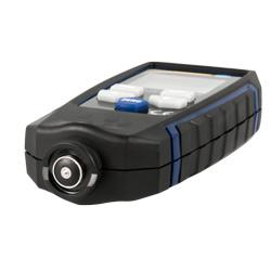 Aquí observa el sensor del medidor de recubrimiento PCE-CT 65