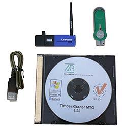 Set completo del Software incluido junto con el medidor de resistencia de madera