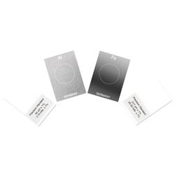 Estándares y placas de calibración para el ajuste de los valores de medición del medidor de revestimiento PCE-CT 100