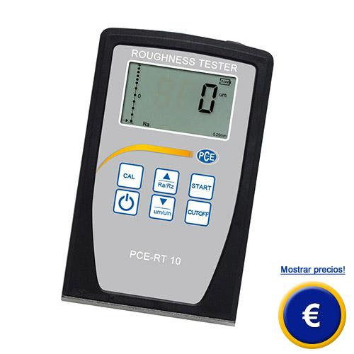 Más información acerca del medidor de rugosidad de superficies PCE-RT 10