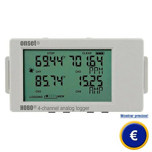 Medidor de temperatura hobo ux120 006m - Medidor de temperatura ...