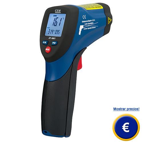 Medidor de temperatura l ser dt 8861 - Medidor de temperatura ...