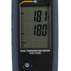 La pantalla del termómetro es de fácil lectura.