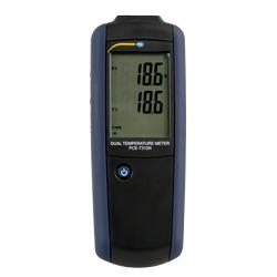 El termómetro PCE-T312N es un instrumento de medición compacto.