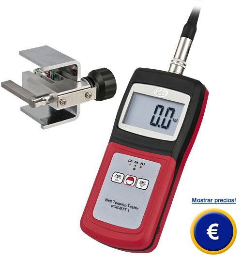 Medidor de tensión PCE-BTT 1 para correas de distribución